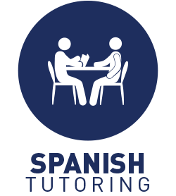Spanish language tutoring table