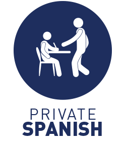 1 hour/day private Spanish classes