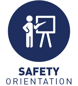 Program and safety orientation