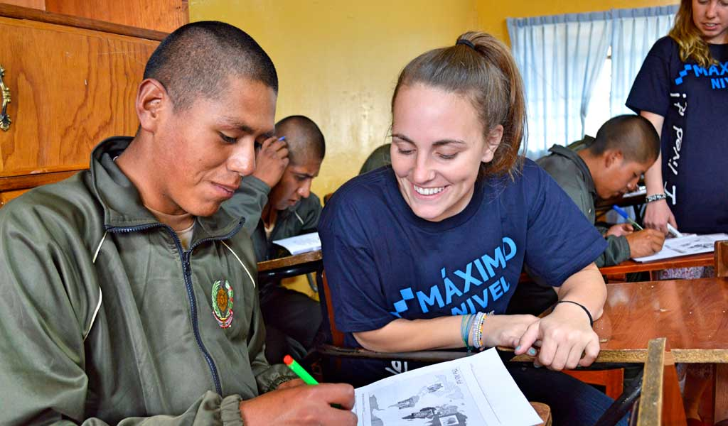 Education Internship in Peru