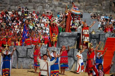 Sapa Inka King in Sacsayhuamán