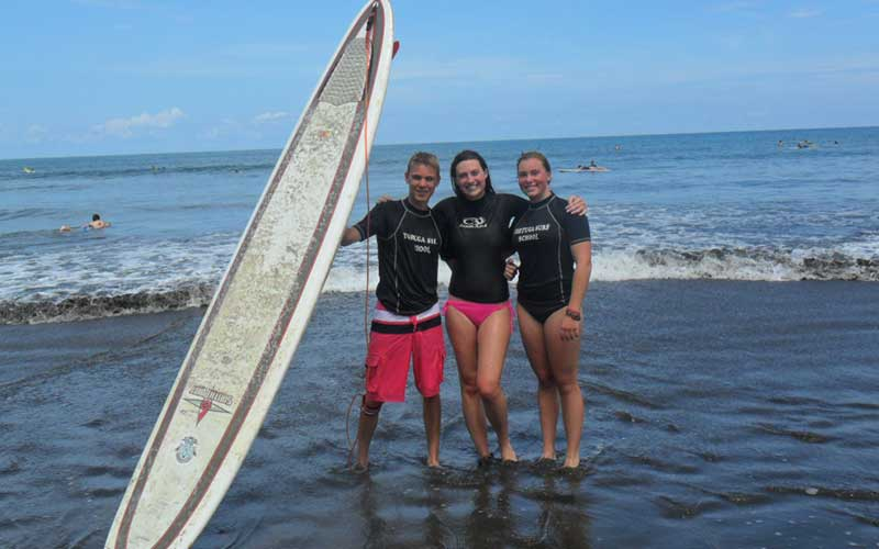Taking-Surf-Lessons-During-TEFL-in-Manuel-Antonio