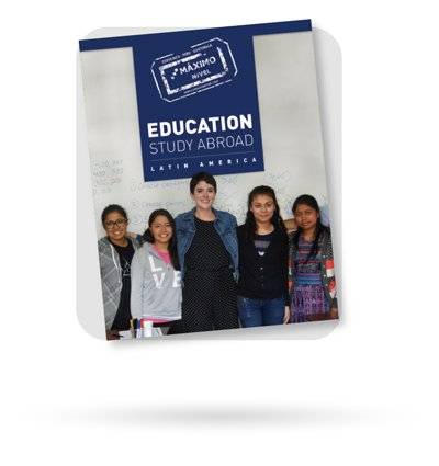 Education Study Abroad Brochure