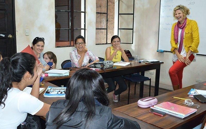 Teaching English at Maximo Nivel Guatemala
