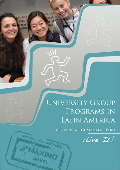University Groups Brochure