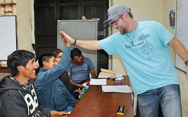 Volunteer Teaching in Guatemala