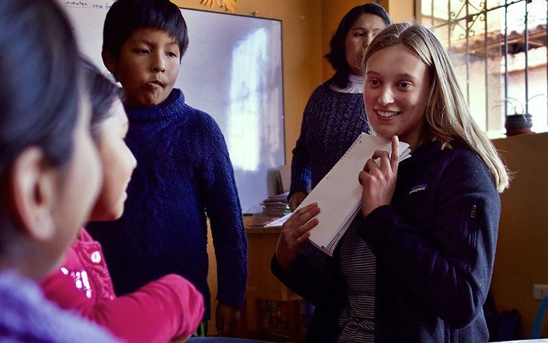 Volunteer Teaching English in Guatemala